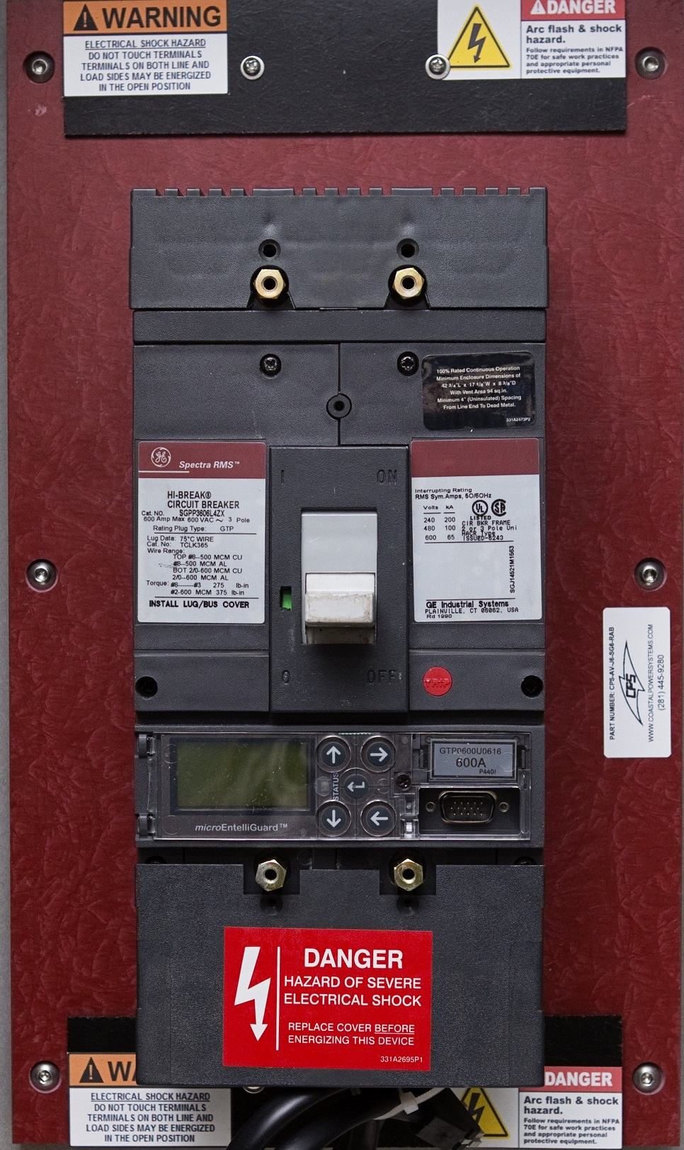 Spectra Series Retrofills Ge Av Line Case Breaker Coastal Power Circuit Substitute